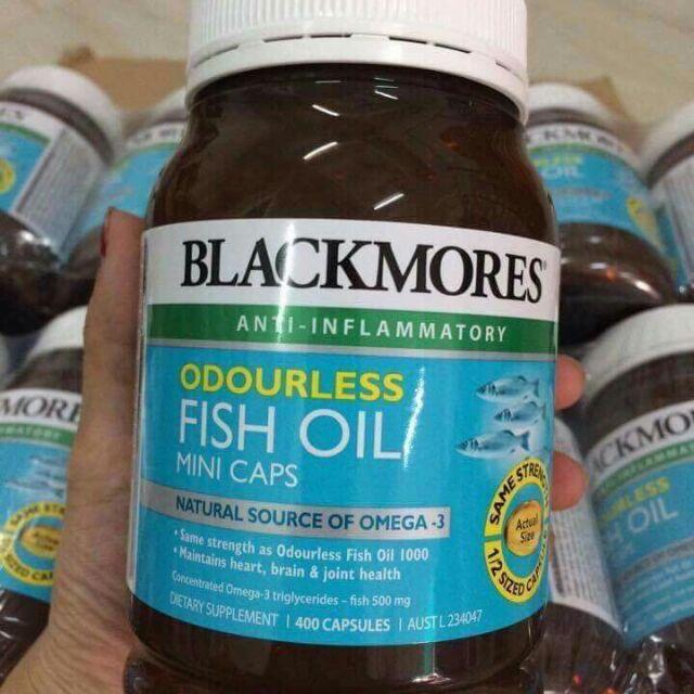 Dầu cá fish oil 1000mg mini cap lọ 400 viên