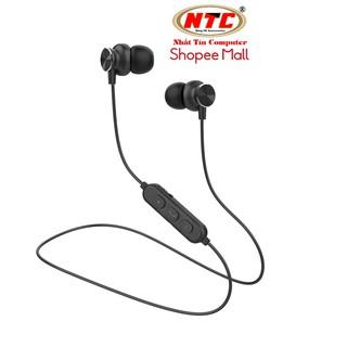 Tai nghe bluetooth thể thao Kisonli A2 chống nước tiêu chuẩn - thiết kế nam châm 2 đầu (đen) thumbnail