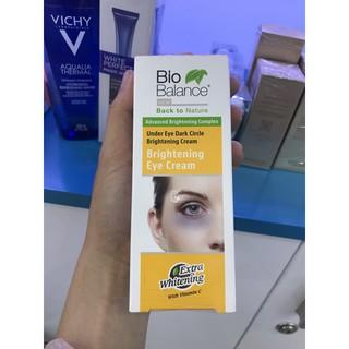 Kem trị quầng thâm mắt, bọng mắt Bio Balance Thổ Nhĩ Kỳ 15ml - 0513644 thumbnail