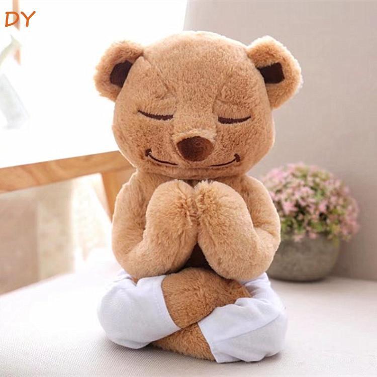 YD Yoga Teddy Bear Doll Bear Plush Toy Cartilage Reshapes Teddy Girls Gifts