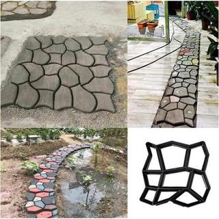 đồ dùng làm vườn - Khuôn làm đá lát vườn DIY GARDEN