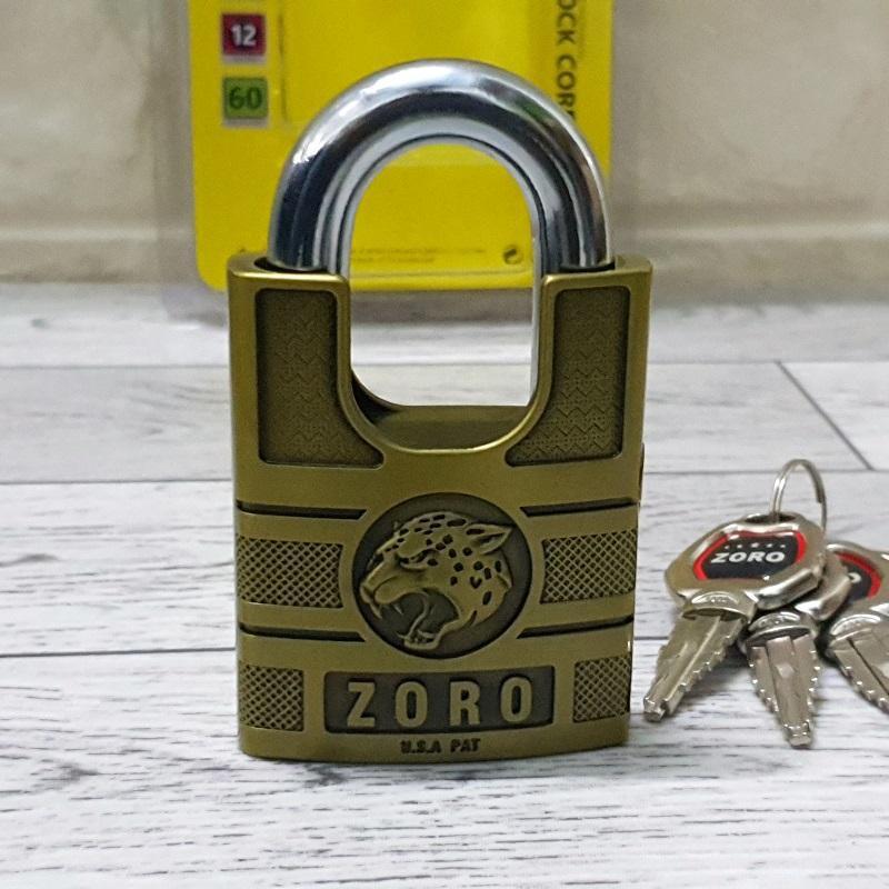 Ổ khóa 6 phân chống cắt ZORO chống trộm