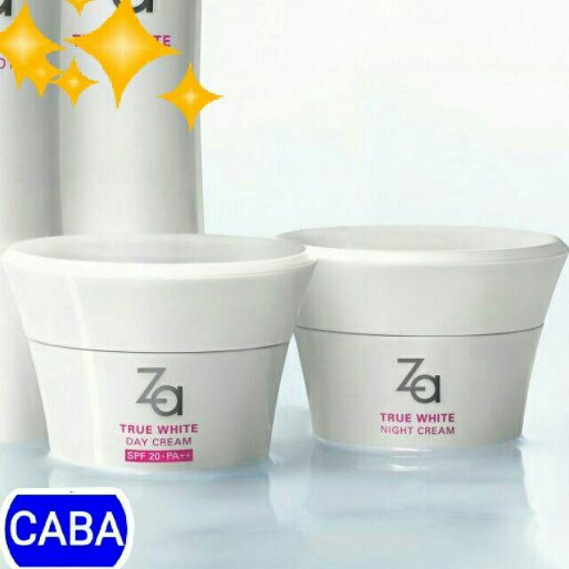 Kem dưỡng trắng, giảm thâm nám Za true white Night cream/ Day cream 40g - 2828877 , 698715806 , 322_698715806 , 259000 , Kem-duong-trang-giam-tham-nam-Za-true-white-Night-cream-Day-cream-40g-322_698715806 , shopee.vn , Kem dưỡng trắng, giảm thâm nám Za true white Night cream/ Day cream 40g