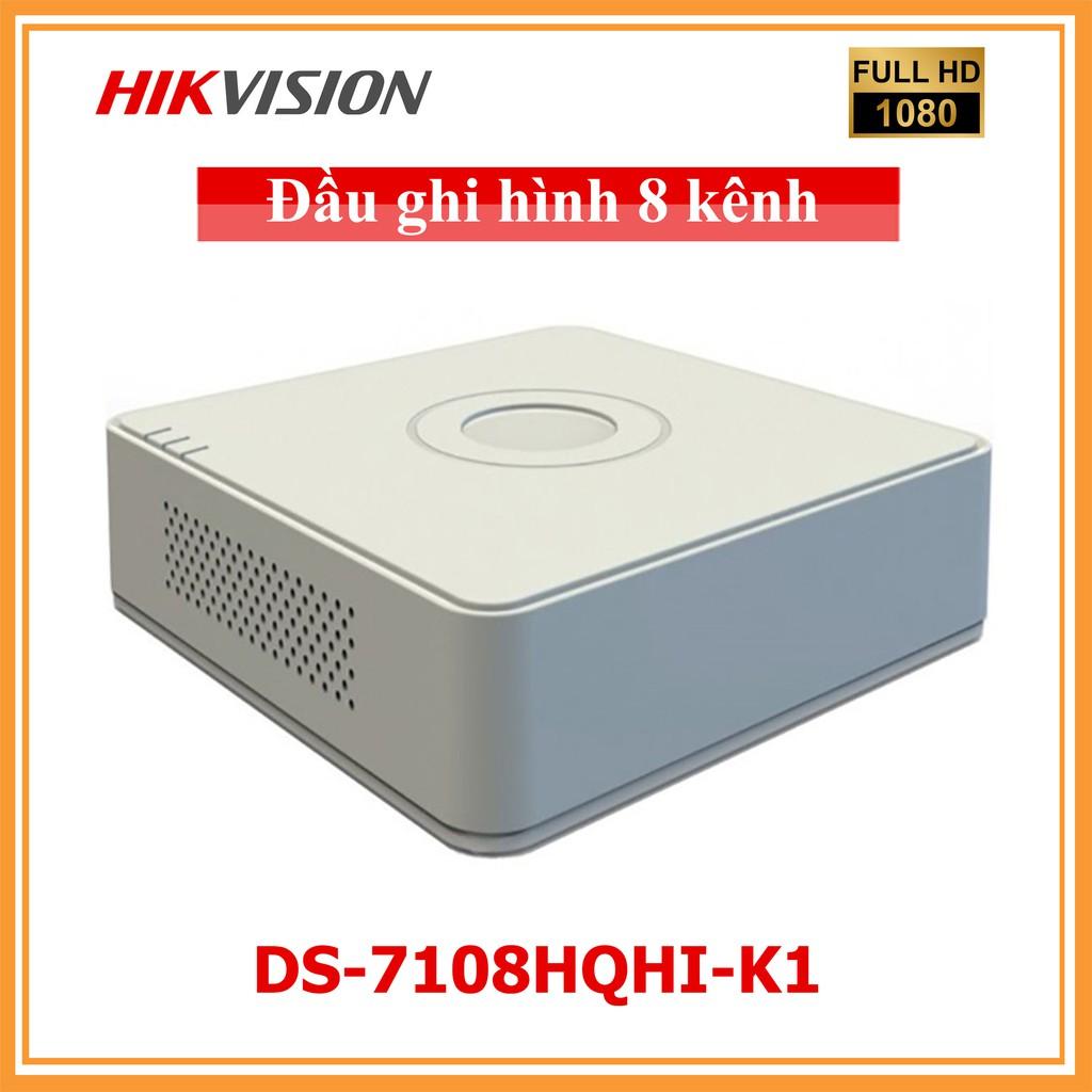 Đầu ghi HDTVI 8 kênh Hikvision DS-7108HQHI-K1 (TURBO HD 4.0) Giá Rẻ