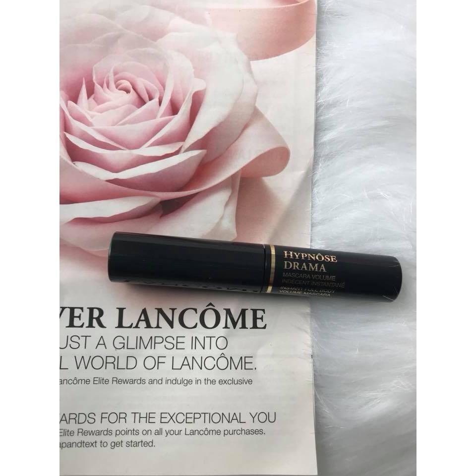 Mascara Lancôme HYPNOSE DRAMA masxara volume Mỹ, mi dày cong vút, BLACK đen. 4ml