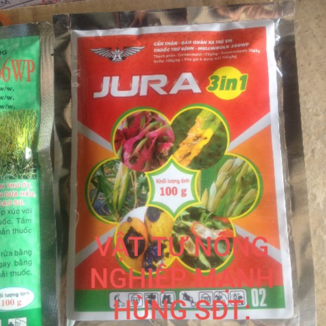 JURA chuyên gia trị nấm