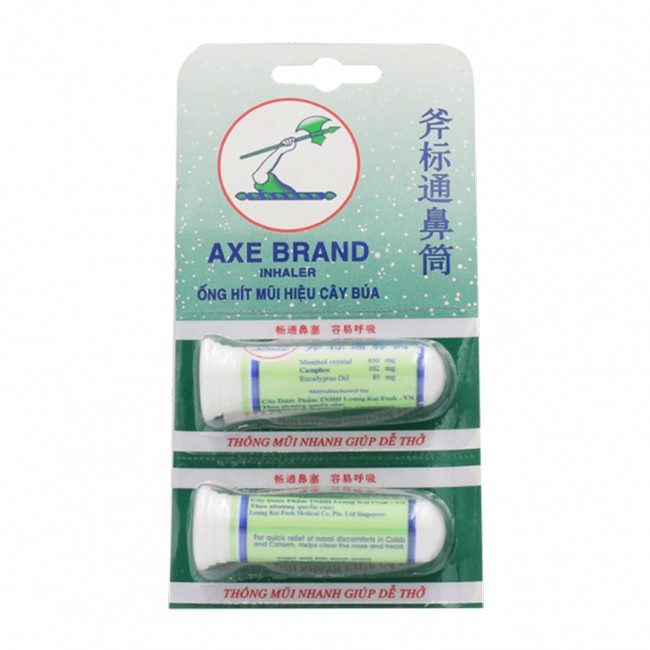 Ống Hít Thông Mũi Cây Búa Axe Brand Singapore