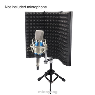 Adjustable Foldable Compact Soundproof Noise Reduction Easy Install Studio Recording Isolation Shield