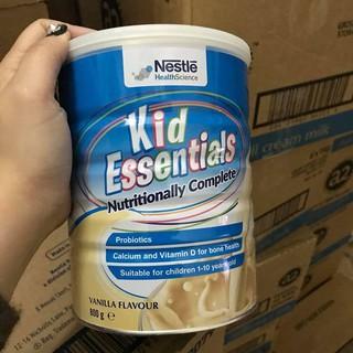 Sữa Kid Essentials Vanilla Úc 800GR Dành Cho Trẻ Chậm Tăng Cân, Lười Ăn, Chậm Lớn thumbnail