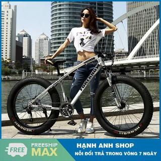 Xe đạp thể thao bánh béo Foreknow 26inch 4.0 - Xe đạp leo núi - Thương hiệu đài loan - Bảo hành 2 năm thumbnail
