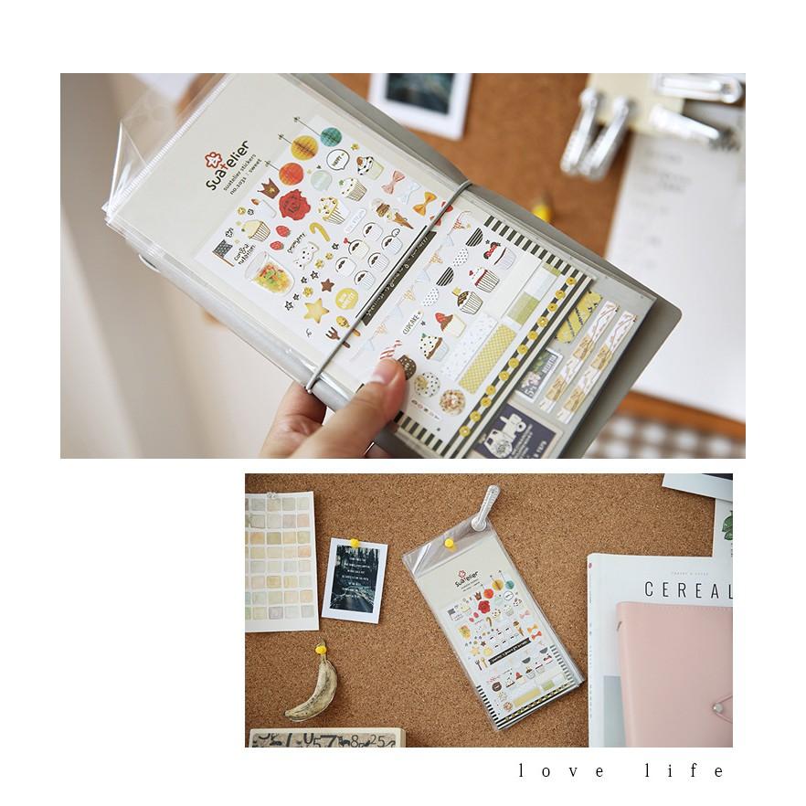 STI21 Miếng dán sticker trang trí DIY - 17 loại khác nhau