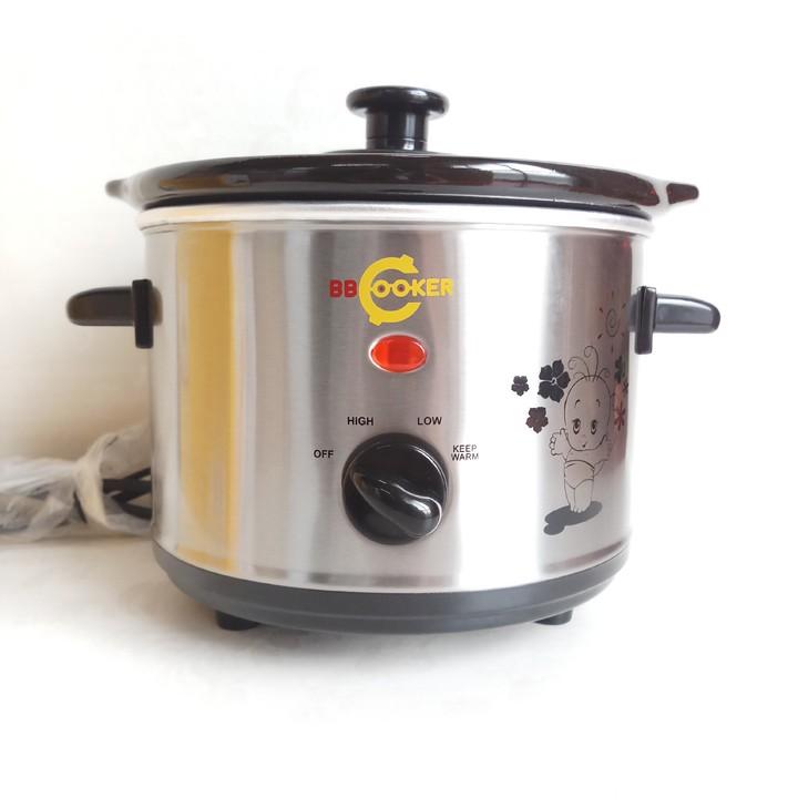Nồi nấu cháo BBCooker Hàn Quốc 1,5 lít