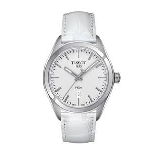 Đồng hồ nữ TISSOT T101.210.16.031.00 Dây da trắng thumbnail