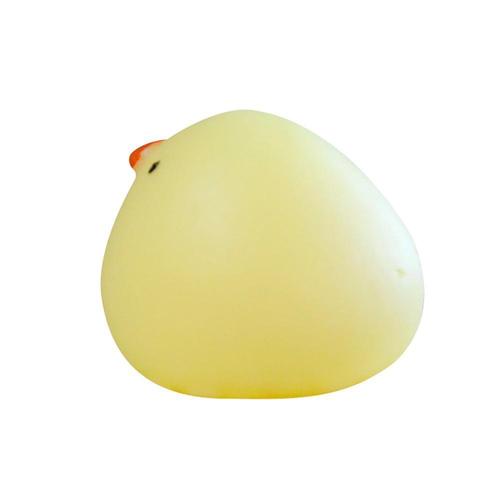 Đồ chơi Squishy hình chú gà đáng yêu cho bé giá sập kh1