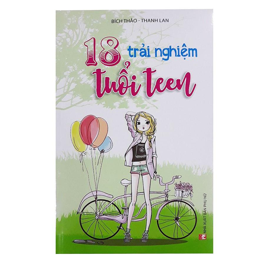 [ Sách ] 18 Trải Nghiệm Tuổi Teen