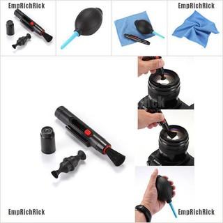 Set dụng cụ vệ sinh lau chùi ống kính máy ảnh DSLR VCR 3 trong 1 tiện lợi thumbnail