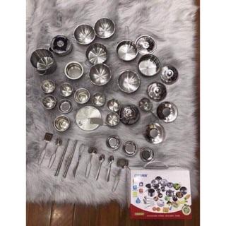 Sỉ 2 3 4 5 bộ đồ chơi nấu ăn inox cho bé
