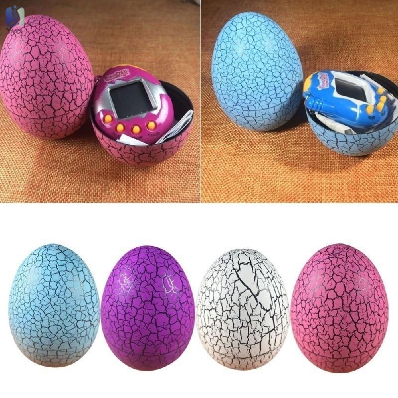Yy Tumbler Dinosaur Egg Virtual Electronic Pet Machine Tamagotchi Digital Cyber Toy Handheld Game @VN