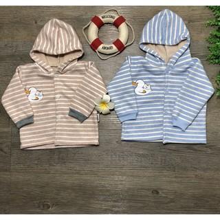 [ GIẢM GIÁ ] Áo Khoác cho bé Nỉ Kẻ Lee Lee Kids baby trai/gái
