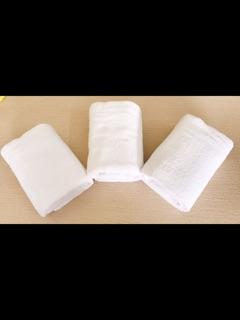 Khăn tắm trắng cao cấp cỡ lớn - hình 4
