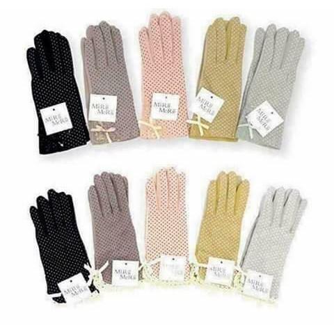 Găng tay chống nắng Nhật [màu ngẫu nhiên]