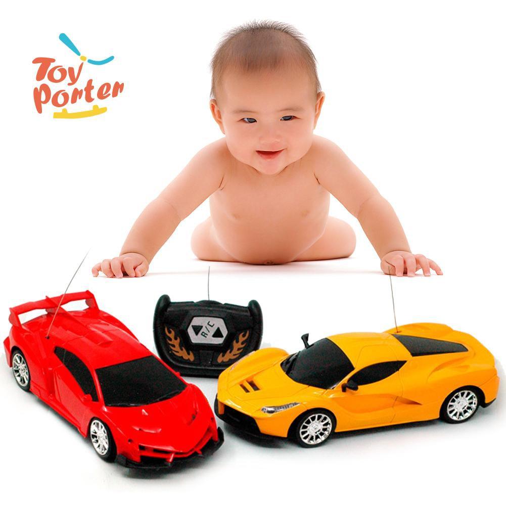 💞1:24 Scale 2CH RC Car Model Kids Children Simulation Remote Control Car Toy💞
