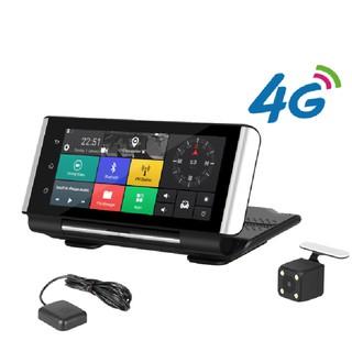 Camera hành trình đặt taplo ô tô K6 Phisung tích hợp cam lùi, 4G, Wifi, định vị GPS