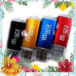 ĐẦU ĐỌC THẺ NHỚ ĐIỆN THOẠI VỎ NHÔM USB 2.0