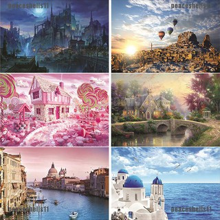 【peace】1000pcs Puzzles Educational Toys Scenery Educational Puzzle for Kids/A