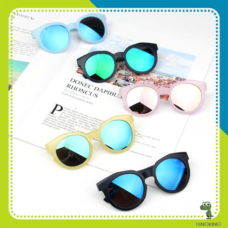Kính mát cho bé gái bé trai DINOKING Mắt kính râm trẻ em 6 màu thời trang chống tia UV...