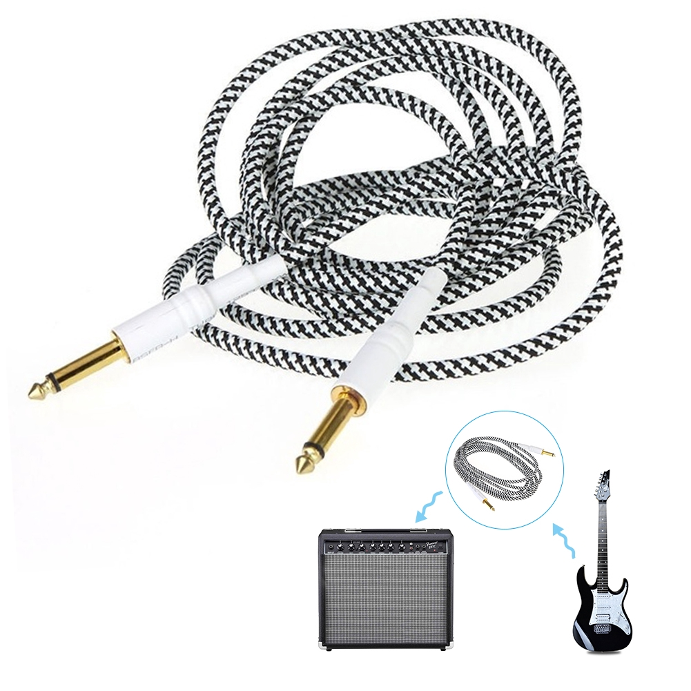 3M Guitar Woven Cables  Lead For Electric Bass Instrument Accessories
