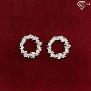 Bông tai nữ bạc, khuyên tai bạc nữ huyền thoại biển xanh BTN0039 - Trang Sức TNJ