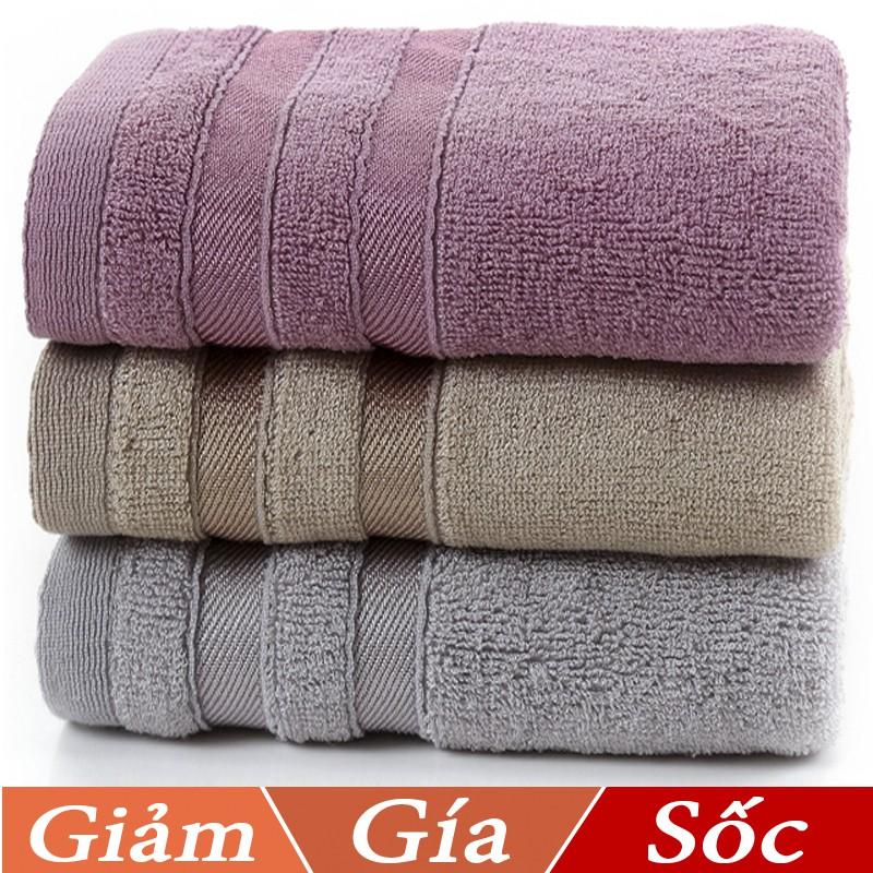 Khăn tắm dày 35x75,siêu thấm chất liệu 100 cotton 120