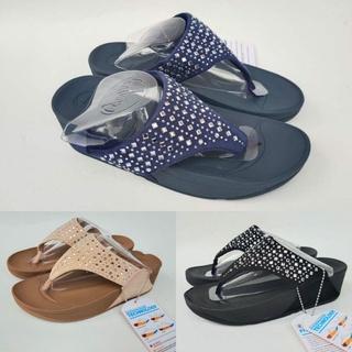 Giày sandal NOVI JEPIT Fitflop NOVI nắp lật ống loe vừa vặn cho nữ thumbnail
