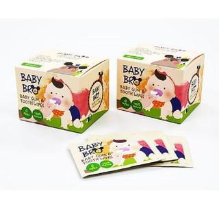 Gạc vệ sinh răng miệng trẻ em Baby Bro thumbnail