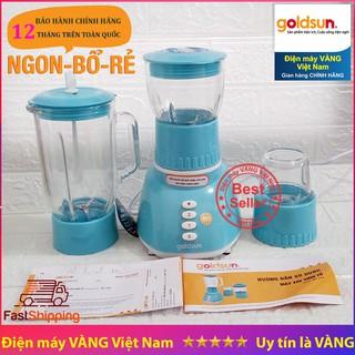Máy xay sinh tố Goldsun GBL4101 3 cối thủy tinh 1.25L, 0.8L, 0.4L