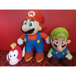 Gấu bông set 3 nhân vật trong Super Mario