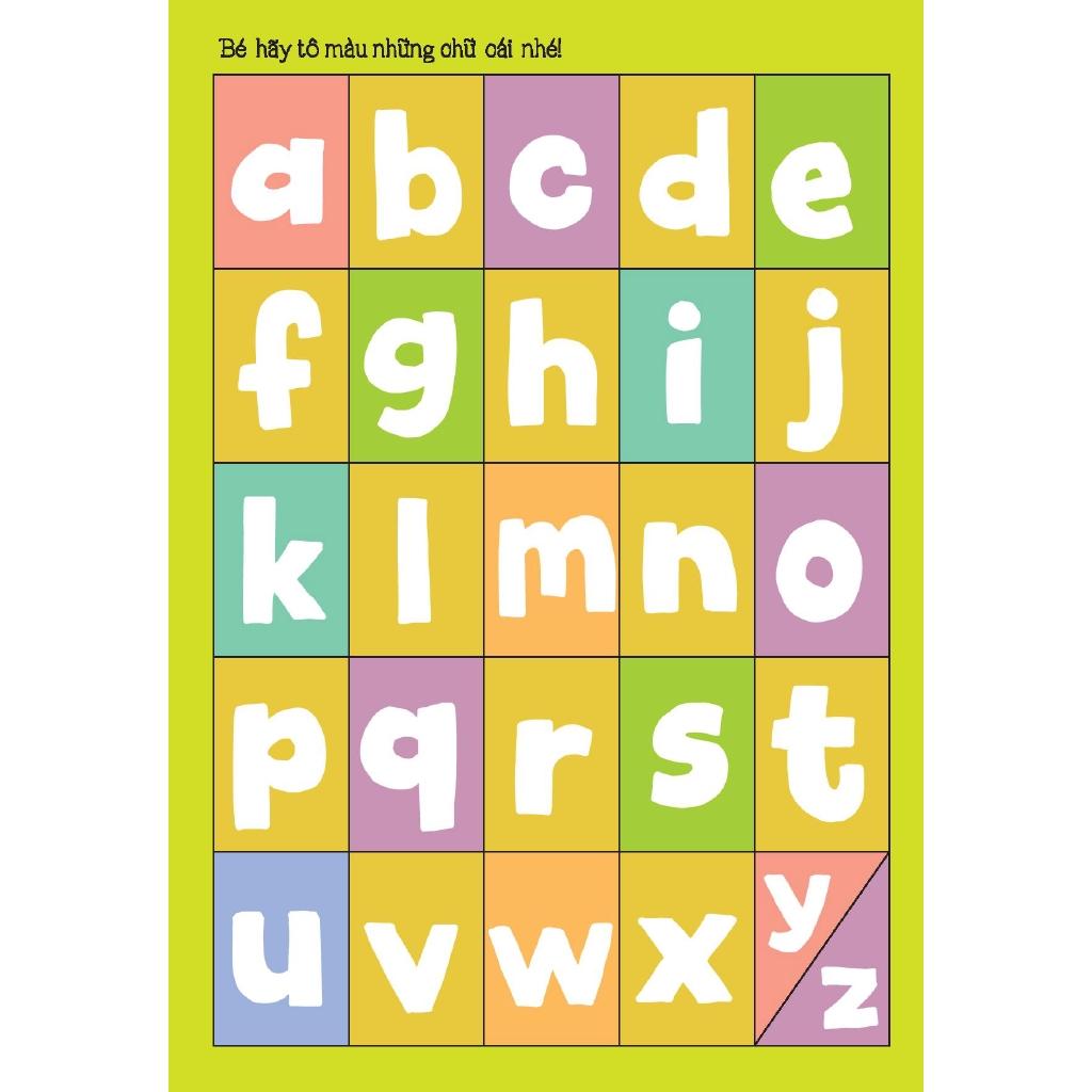 Sách - Bé Tập Tô - Bé Học Chữ - Chữ Cái Tiếng Anh Abc   Nông Trại Vui Vẻ -  Shop