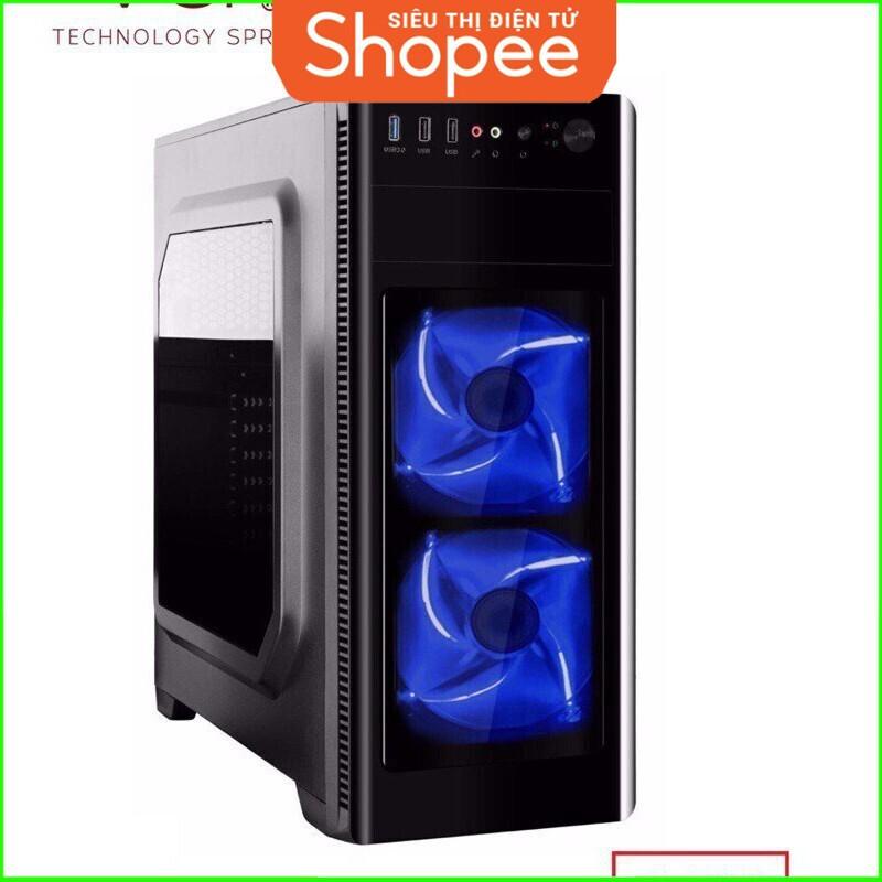 [RẺ SẬP GIÁ] Vỏ Case VSP 3606 Nắp Hông Trong Suốt Chuyên Server Và Game Giá chỉ 443.750₫