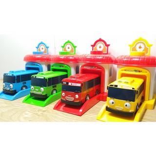 Combo Bộ xe bus Tayo 4 chiếc (4 màu khác nhau)