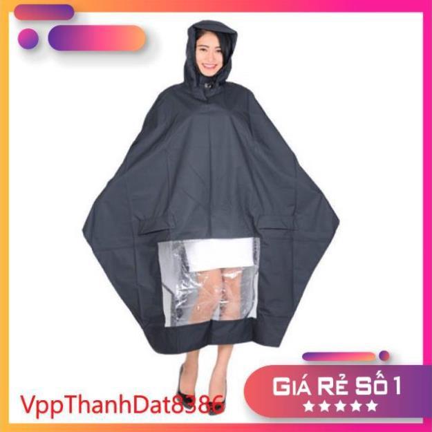 (Sale)  [có sỉ giá đẹp inbox] Áo mưa 1 đầu cánh dơi vải dù siêu bền chống rách