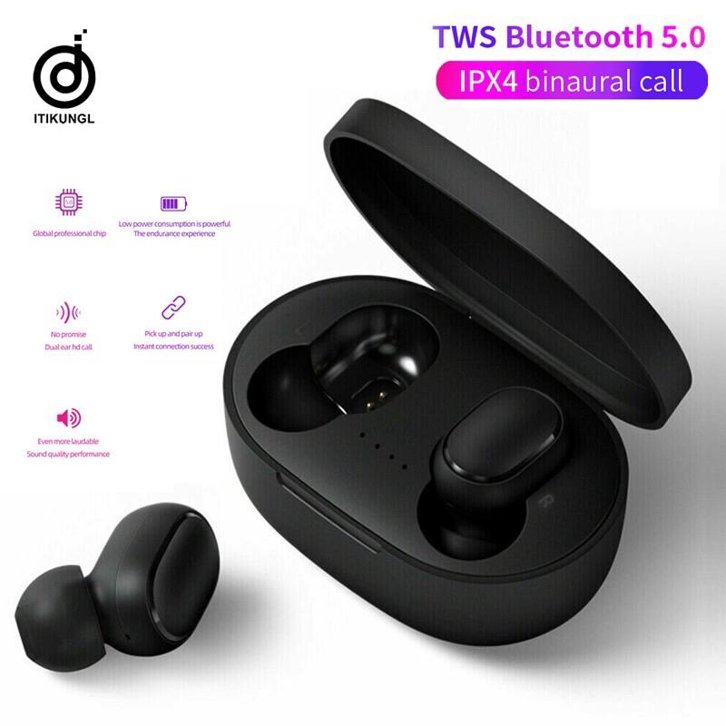 Tai Nghe Bluetooth Không Dây A6S Tws Cho Điện Thoại Android Iphone Chuyên Dụng