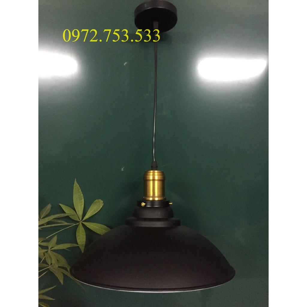 Đèn Thả:Đèn thả trang trí chao 3 khấc đui đồng D320