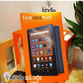 Máy tính bảng Kindle Fire HD8+ 10th 2020 màn hình 8inch sắc nét, RAM 3GB, dung lượng 32GB – New 100%
