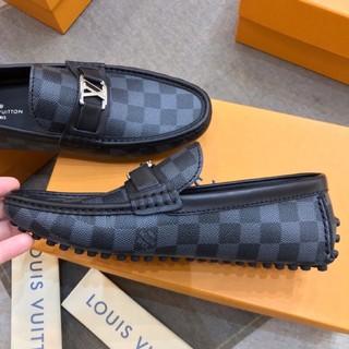 (ảnh+video) giày moca nam da sần logo bạc đế khâu chắc chắn