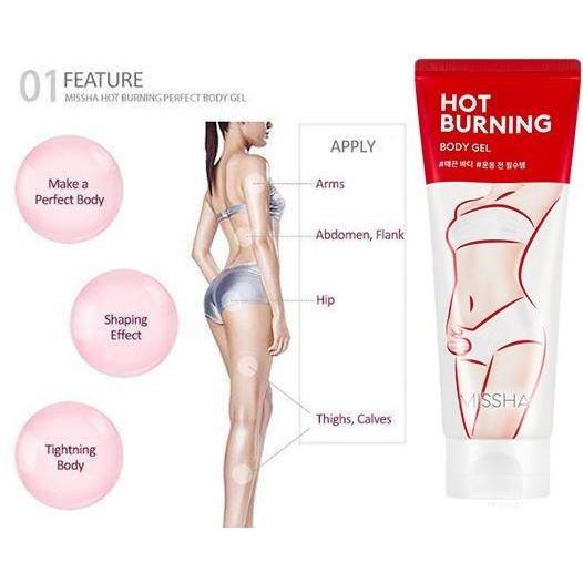 ec7486a23f3 Sỉ Kem massage tan Mỡ Missha Hot Burning Perfect Body Gel EU chính hãng |  Shopee Việt Nam