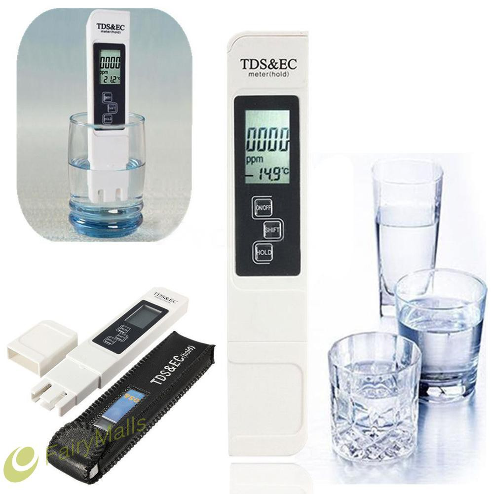 ㊕SG㊕US STOCK 3 in 1 LCD Digital TDS EC PPM Water Quality