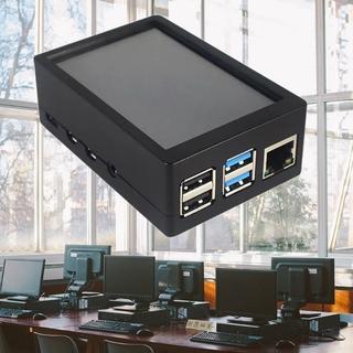 Bộ Khung Abs Bảo Vệ Màn Hình Cảm Ứng 3.5 Inch 480x320 Lcd Cho Raspberry Pi 4 Model B