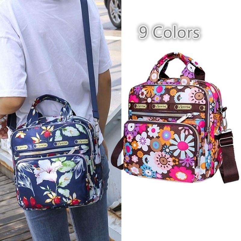 Fashion Backpack Leisure Travel Double Backpack Waterproof Handbag