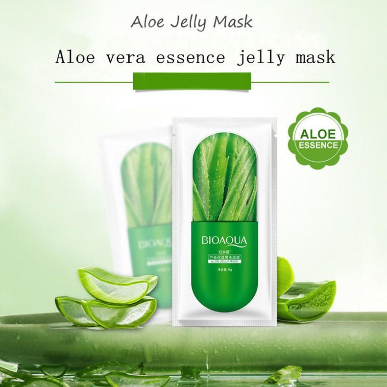 Lẻ 1 miếng mặt Nạ Ngủ Dạng thạch Jelly  Hình viên thuốc BIOAQUA